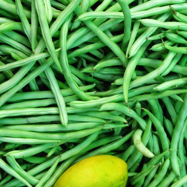 """Mangos & Beans"" stock image"
