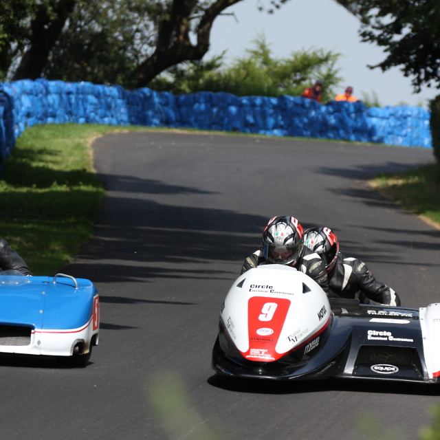 """""""Sidecar Racing, Oliver's Mount"""" stock image"""