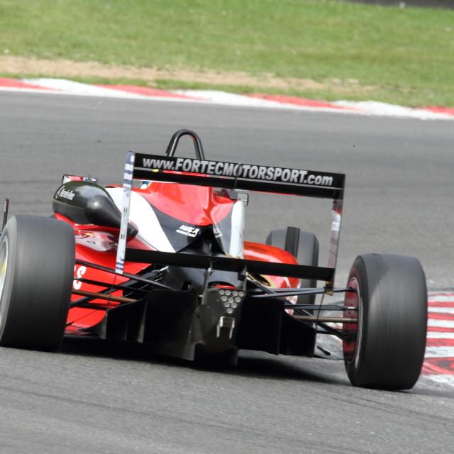 """British Formula 3 Championship"" stock image"