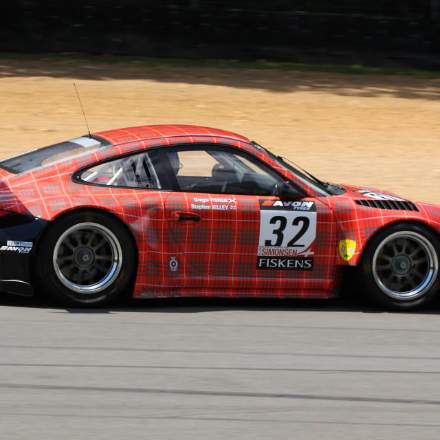 """British GT Championship"" stock image"