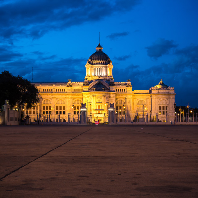 """ananta samakhom throne hall bangkok"" stock image"