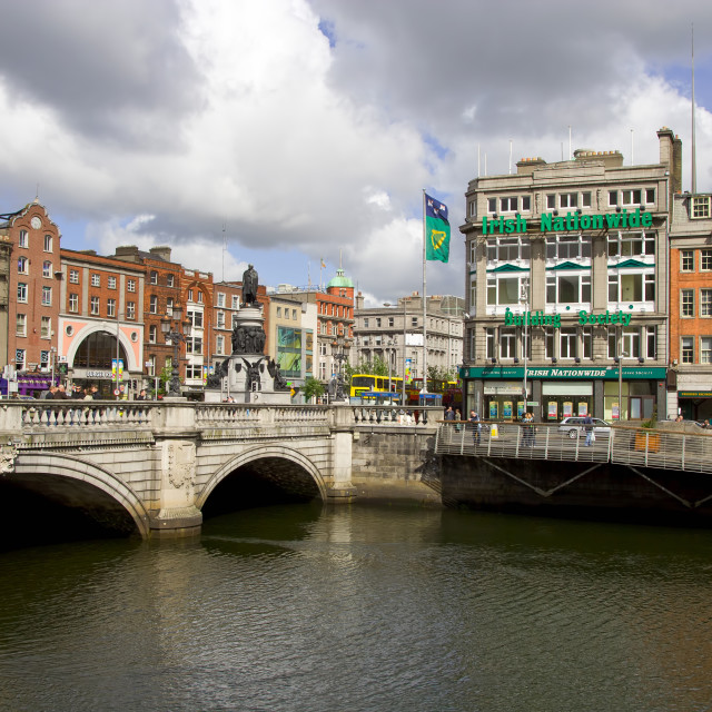 """City of Dublin in Ireland"" stock image"