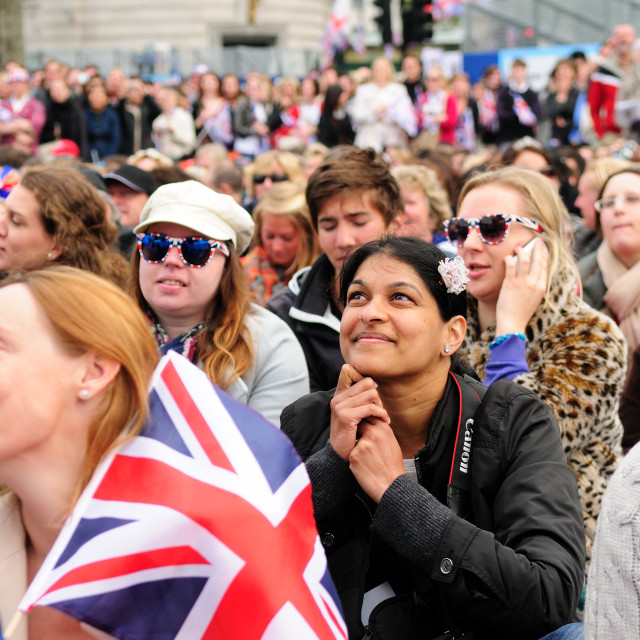 """Royal Wedding 2011 ."" stock image"