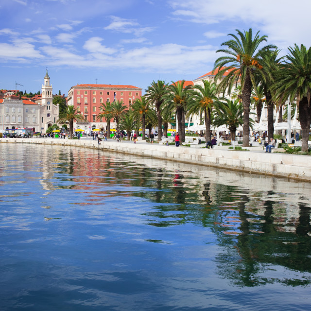 """""""City of Split in Croatia"""" stock image"""