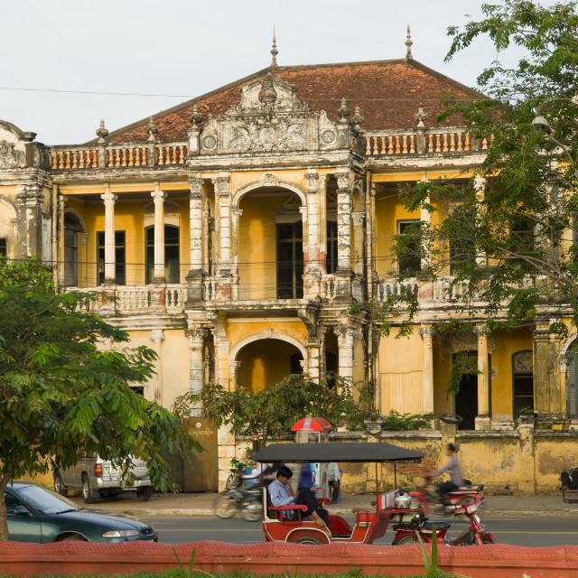 """Phnom Penh Colonial Architecture"" stock image"