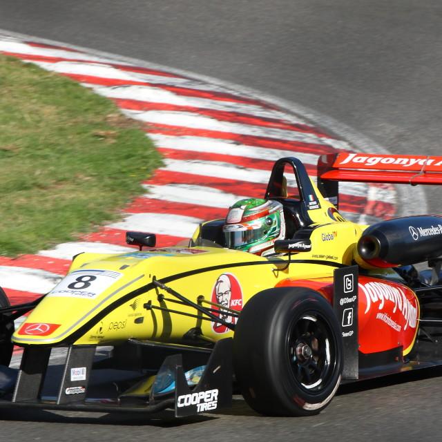 """Antonio Giovinazzi, British F3 Championship"" stock image"