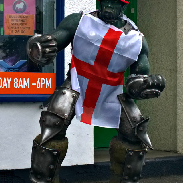 """English Knight"" stock image"