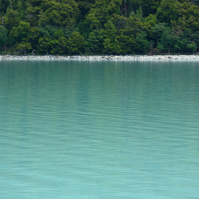 """""""Minimalist Lake View"""" stock image"""