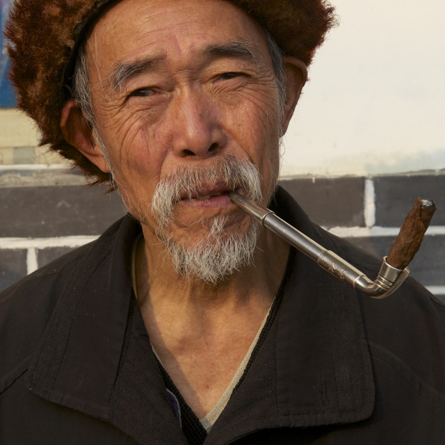 """Sichuan cigar"" stock image"
