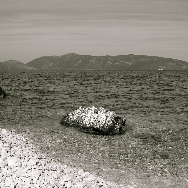 """Ionian Seascape"" stock image"