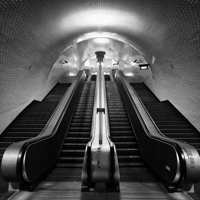 """Chiado Subway"" stock image"