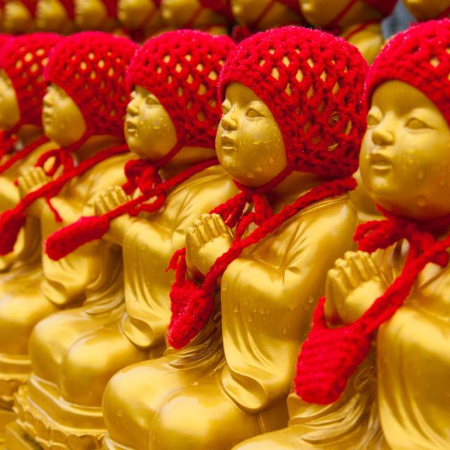 """""""Buddha statues"""" stock image"""