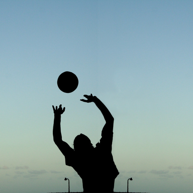 """Volley ball"" stock image"