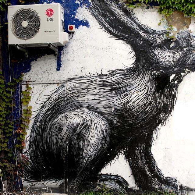 """Bunny art"" stock image"