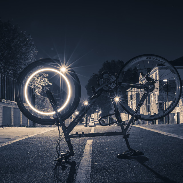 """Bike Light"" stock image"