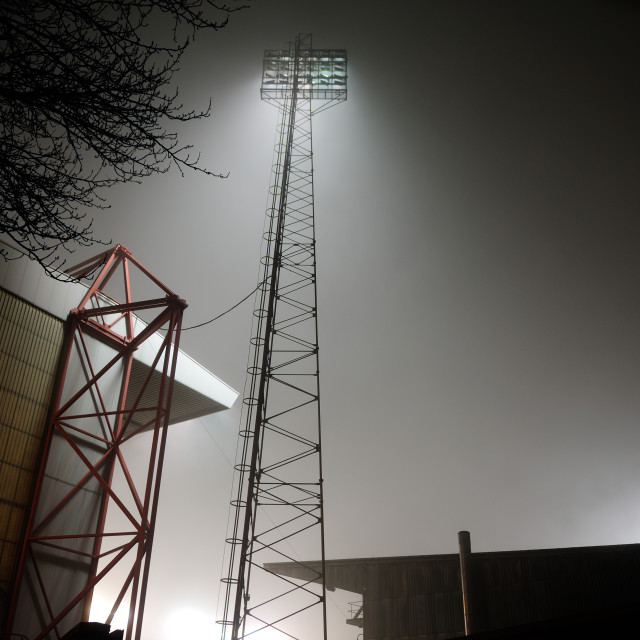 """Nottingham Forest Football Ground ."" stock image"