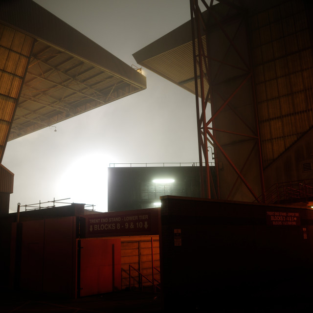 """Nottingham Forest Football Ground ."" stock image"