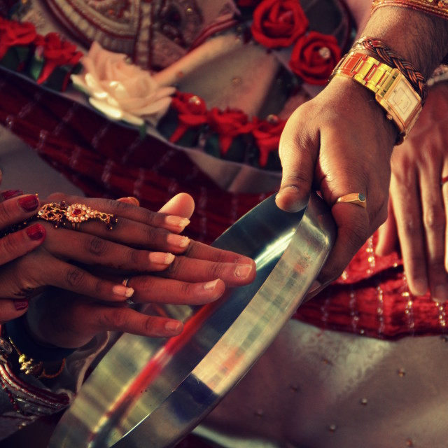 """Hindu Wedding 4"" stock image"