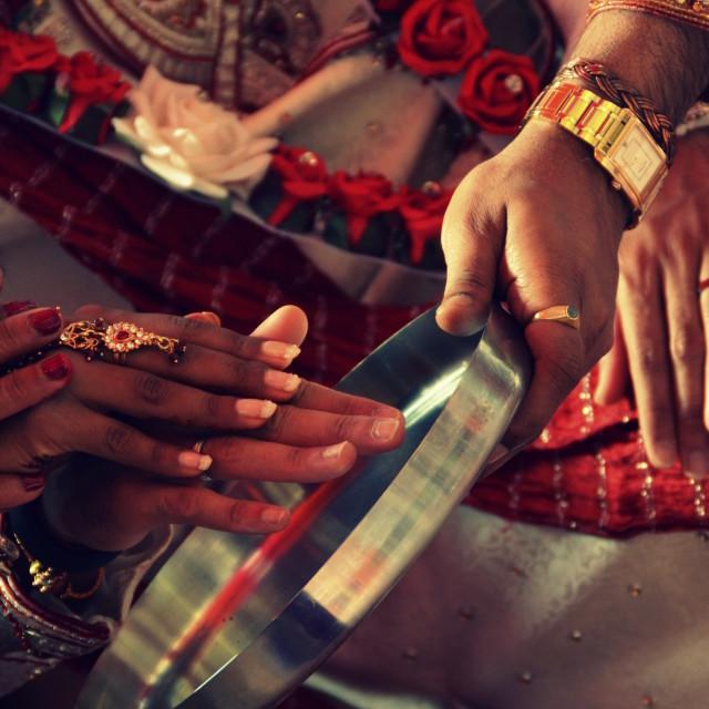 """""""Hindu Wedding 4"""" stock image"""