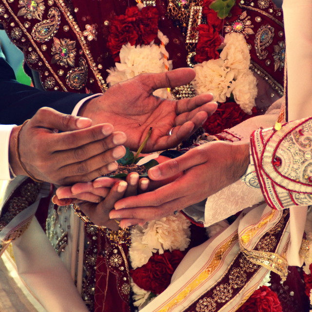 """Hindu Wedding 3"" stock image"