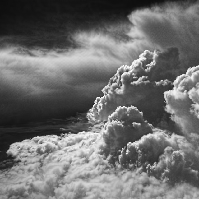 """""""Thunderclouds"""" stock image"""