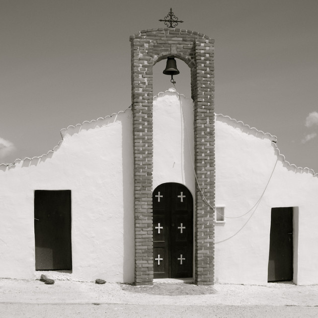"""Greek Church"" stock image"