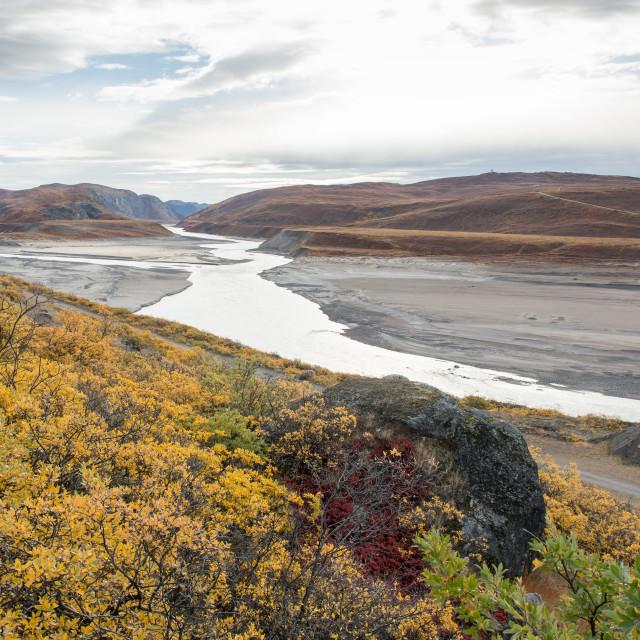 """Beautiful autumn landscape"" stock image"