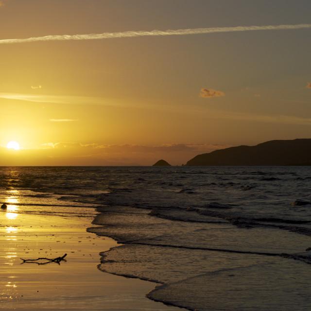 """""""Paraparaumu Beach"""" stock image"""