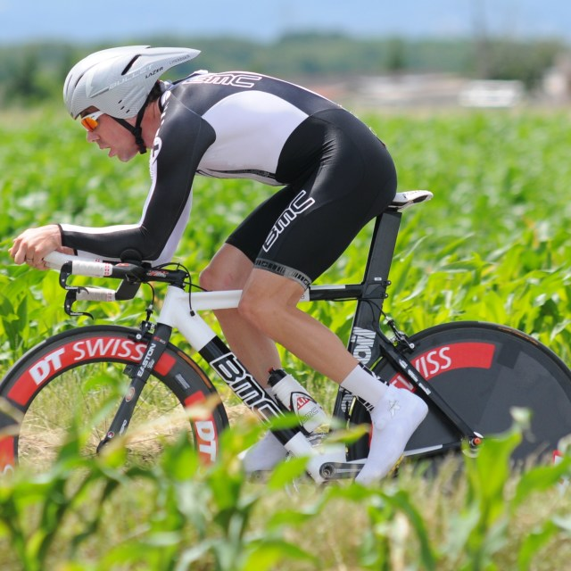 """""""Dauphiné time trial (2009)"""" stock image"""