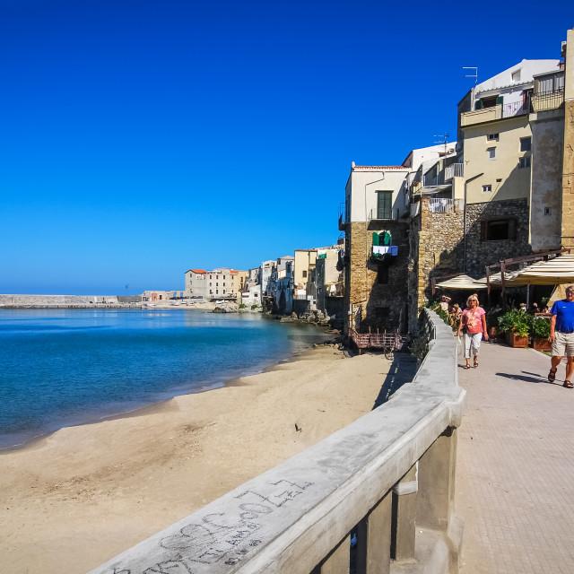 """Cefalu, Sicily"" stock image"