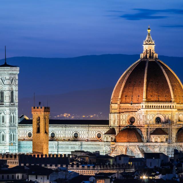"""""""Santa Maria dei Fiori Dome, Florence"""" stock image"""