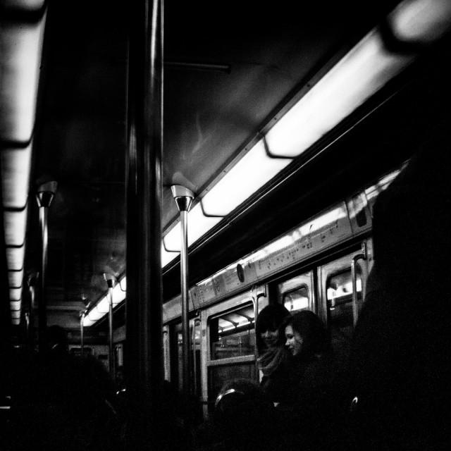 """""""Paris metro"""" stock image"""