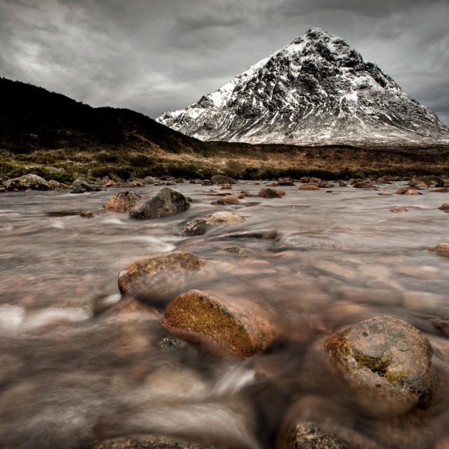 """Glen Coe"" stock image"
