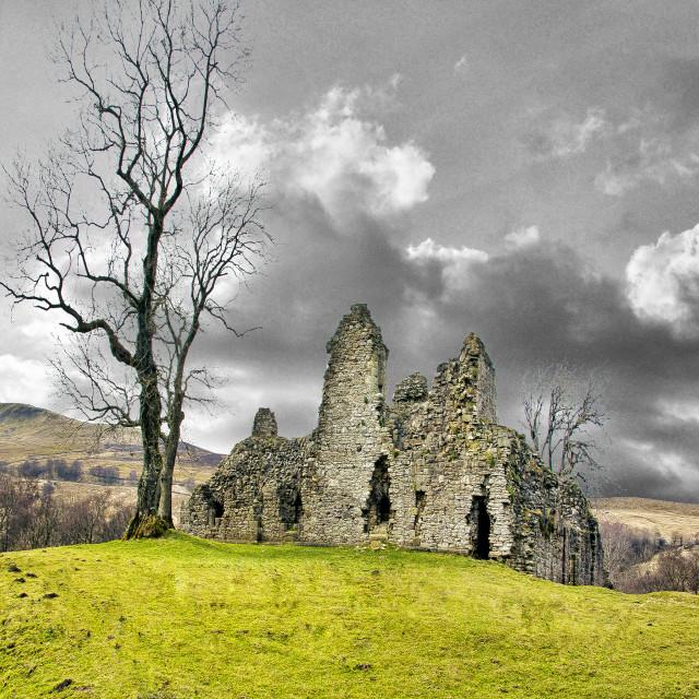 """""""Pendragon Castle"""" stock image"""