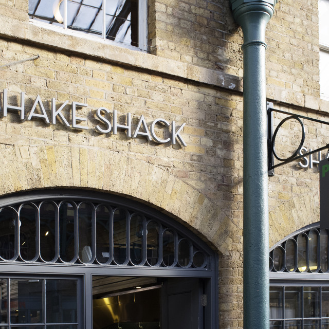 """""""Shake Shack"""" stock image"""