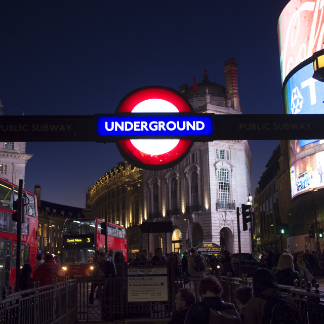 """""""Piccadilly Circus"""" stock image"""