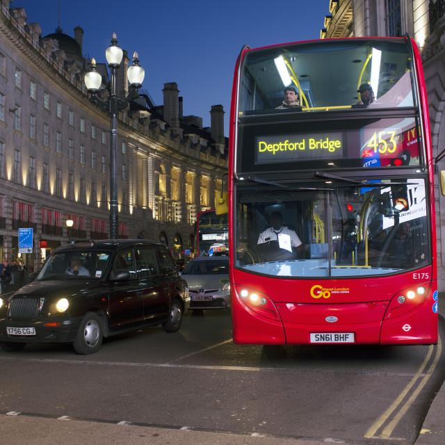 """London Traffic"" stock image"