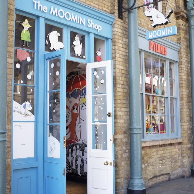 """Moomin Shop"" stock image"