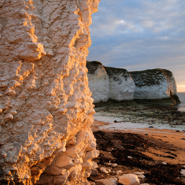 """Flamborough Head ."" stock image"