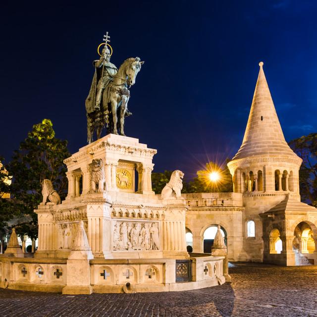 """""""Fishermen Bastion, Budapest"""" stock image"""