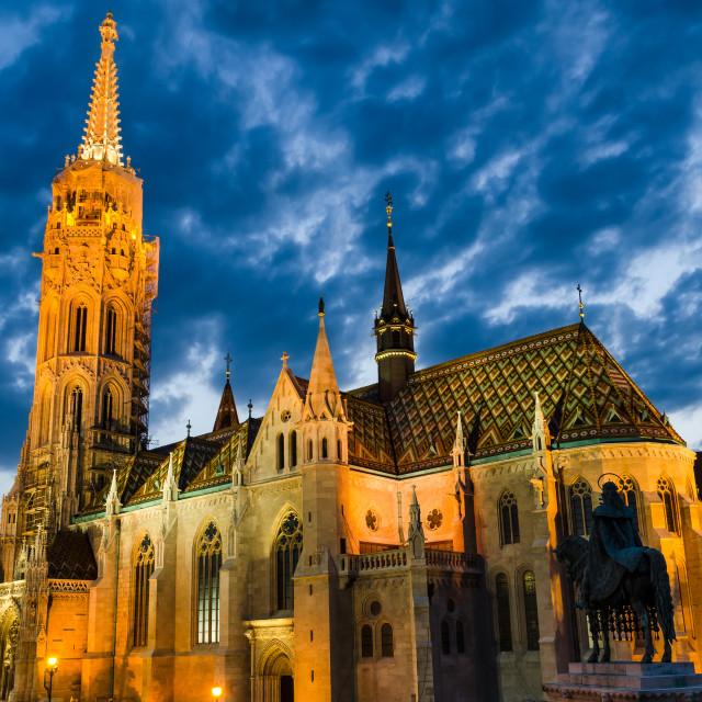 """""""Matyas Church, Budapest"""" stock image"""