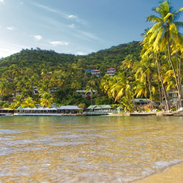"""""""Doolittle's St Lucia"""" stock image"""