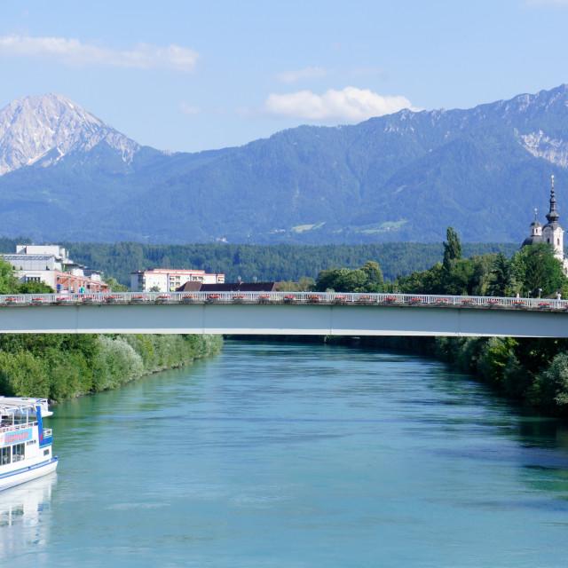 """Villach, Austria"" stock image"