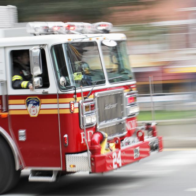 """Fire engine"" stock image"