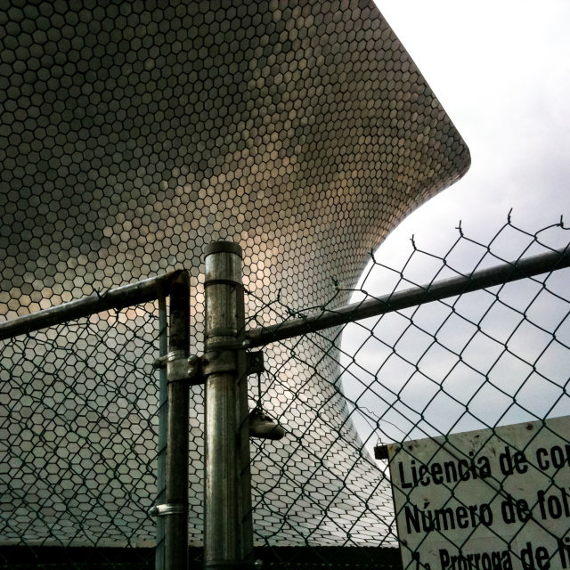 """Soumaya museum in Mexico city."" stock image"