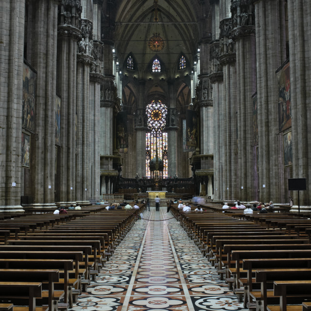 """Milan Cathedral"" stock image"