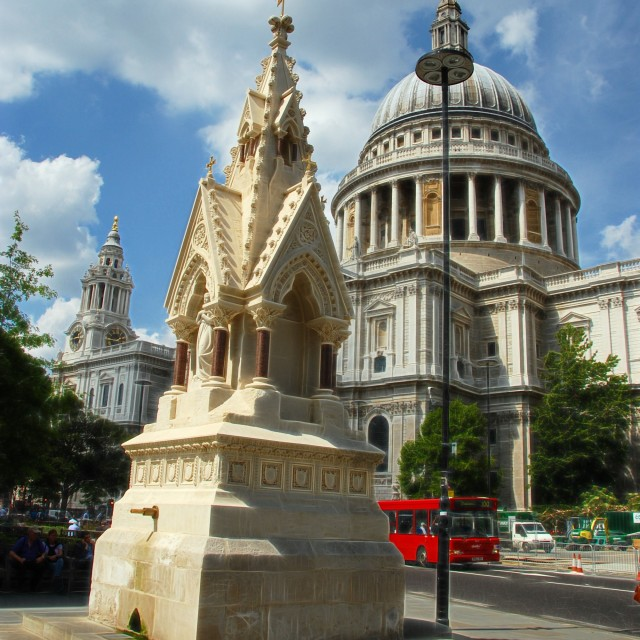 """Saint Pauls London"" stock image"