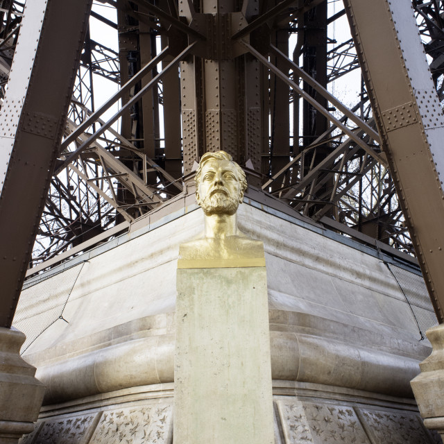 """Gustave Eiffel"" stock image"