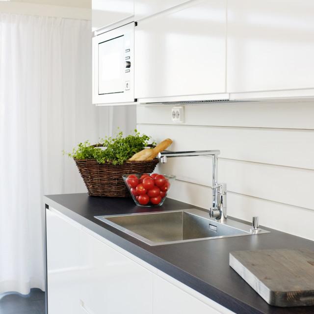 """Modern Kitchen"" stock image"