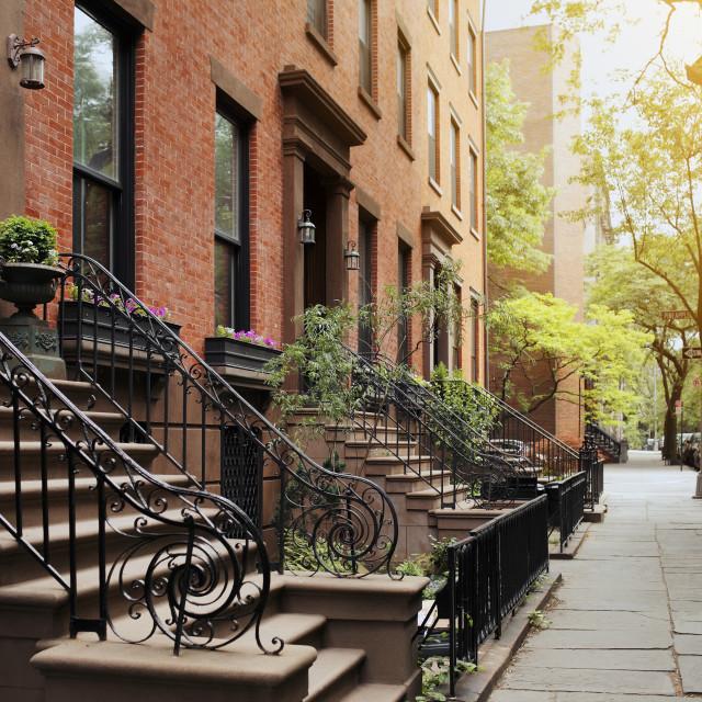 """Brooklyn Heights"" stock image"